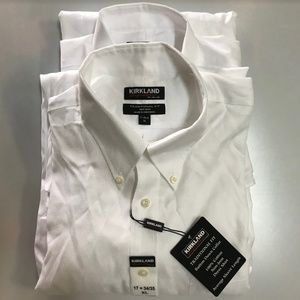 Kirkland Signature Men Traditional Fit Button-Down